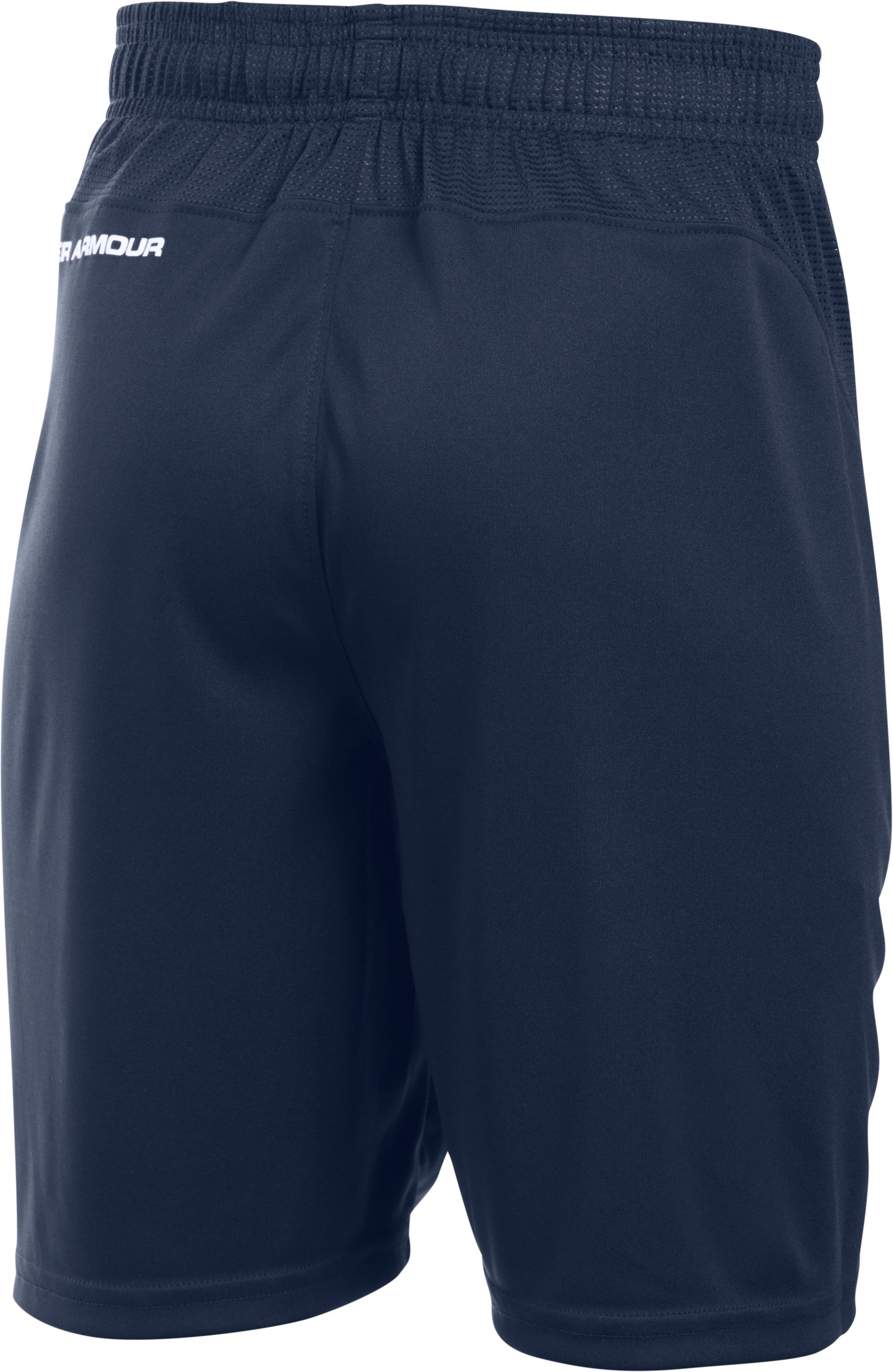Boys' UA Challenger Knit Shorts, Midnight Navy,