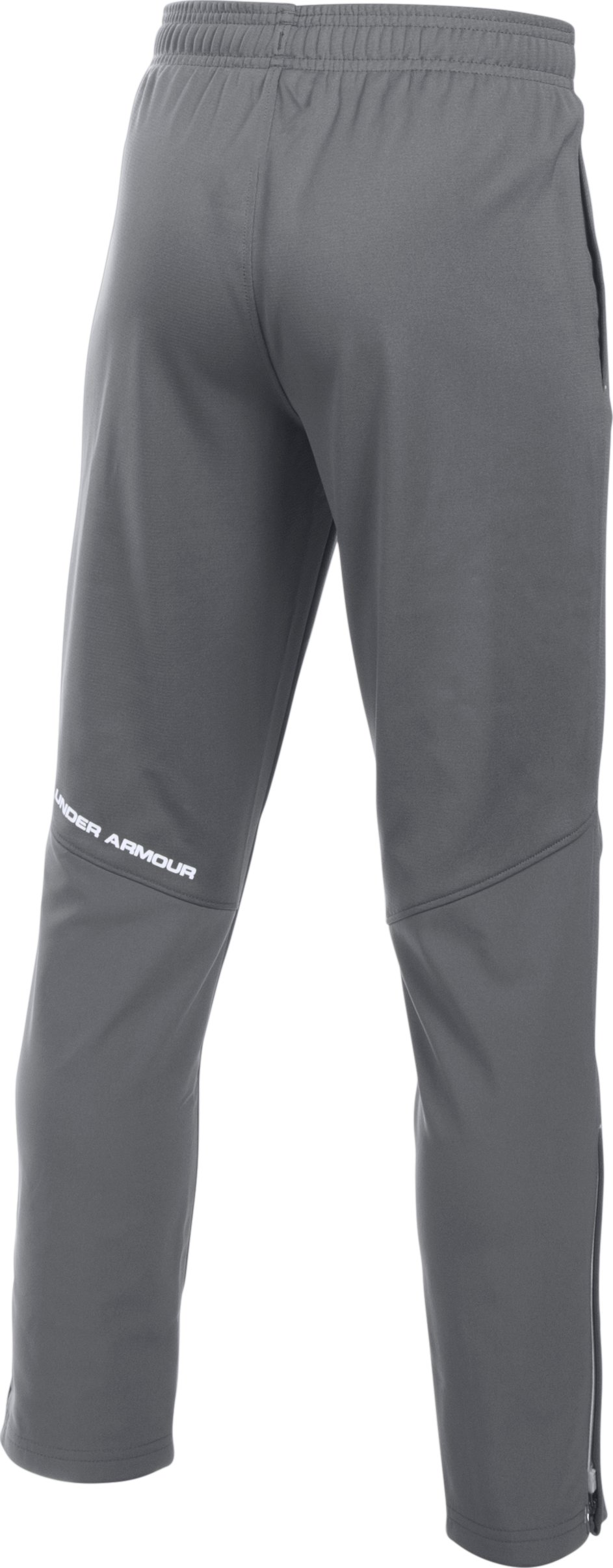 Boys' UA Challenger Knit Pants, Graphite, undefined