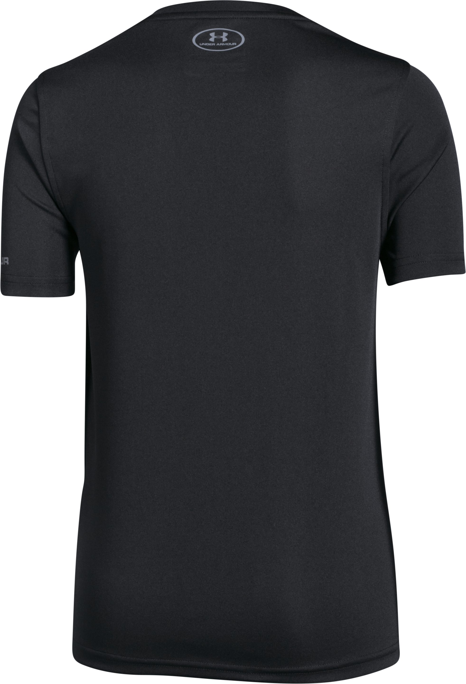 Boys' UA Challenger Training Shirt, Black , undefined