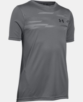 New Arrival Boys' UA Challenger Training Shirt LIMITED TIME: FREE SHIPPING 1 Color $22