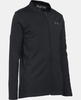 New Arrival Boys' UA Challenger Warm-Up Jacket  1 Color $55
