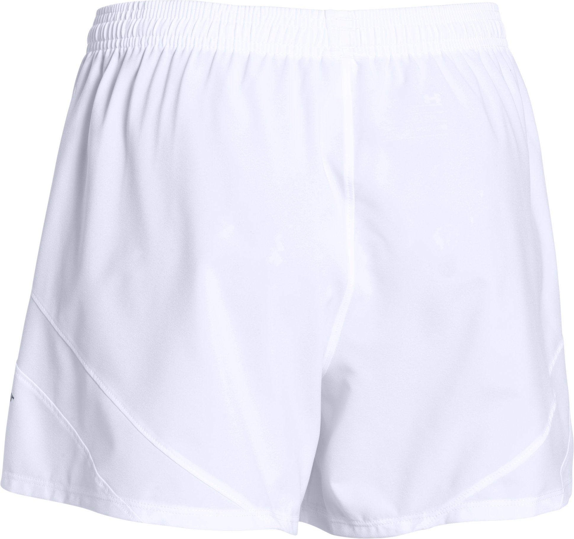 Women's UA Pitch Woven Short, White, undefined