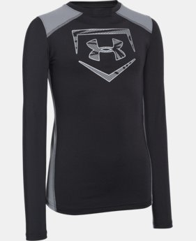 Boys' UA Undeniable Long Sleeve Fitted  4 Colors $23.99 to $29.99