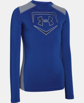Boys' UA Undeniable Long Sleeve Fitted   $29.99