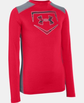 Boys' UA Undeniable Long Sleeve Fitted  1 Color $23.99 to $29.99