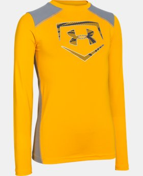 Boys' UA Undeniable Long Sleeve Fitted  1 Color $29.99