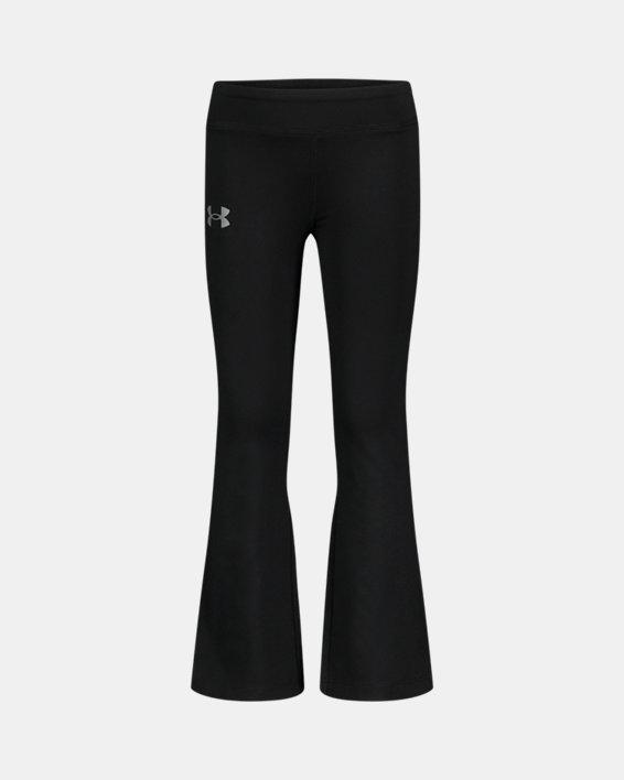 Girls' Pre-School UA Yoga Pants, Black, pdpMainDesktop image number 0