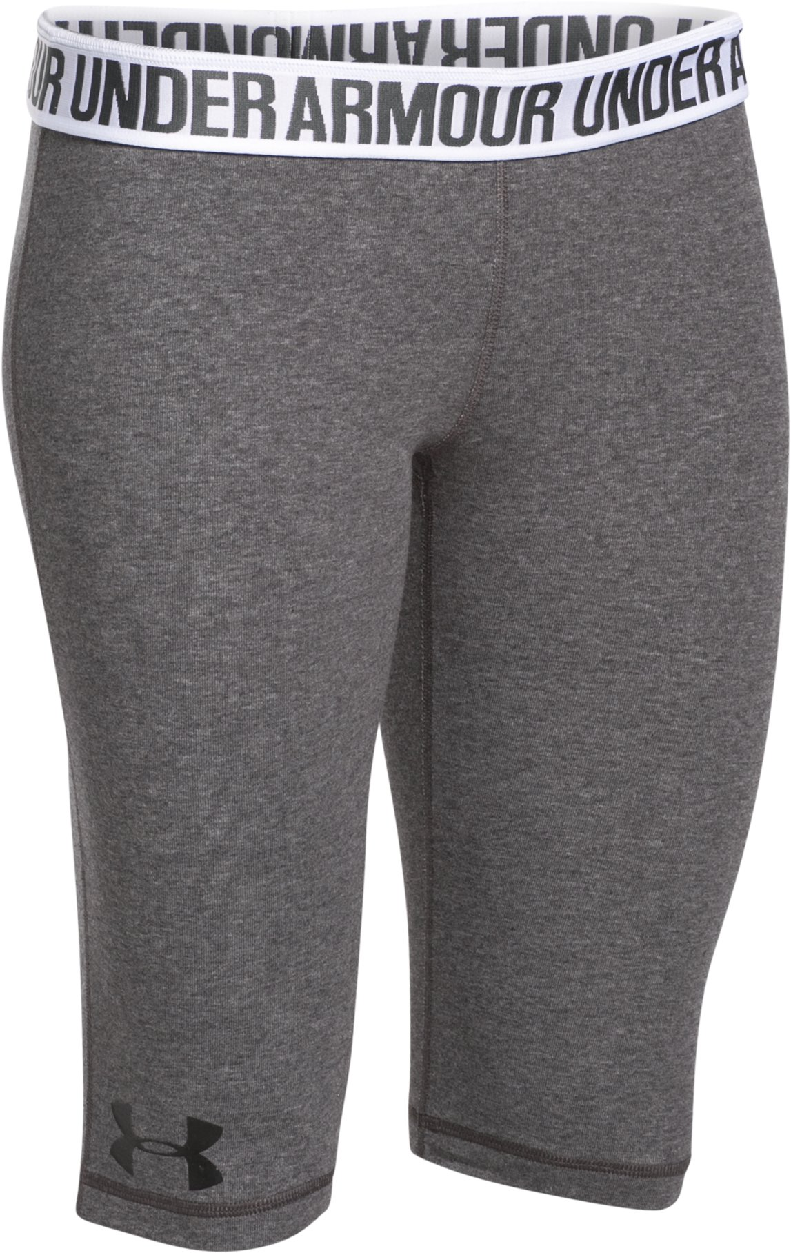 Women's UA Favorite Knee Capri, Carbon Heather, undefined