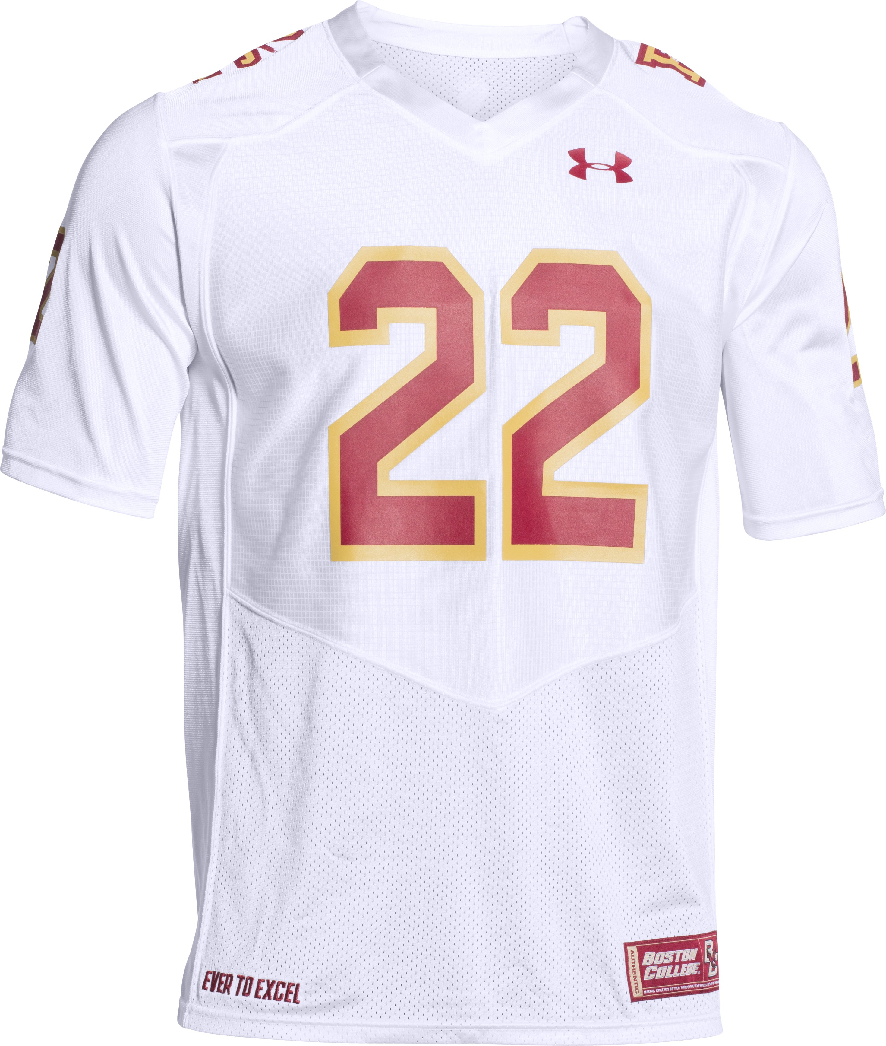 Men's Boston College Fenway Replica Jersey, White,