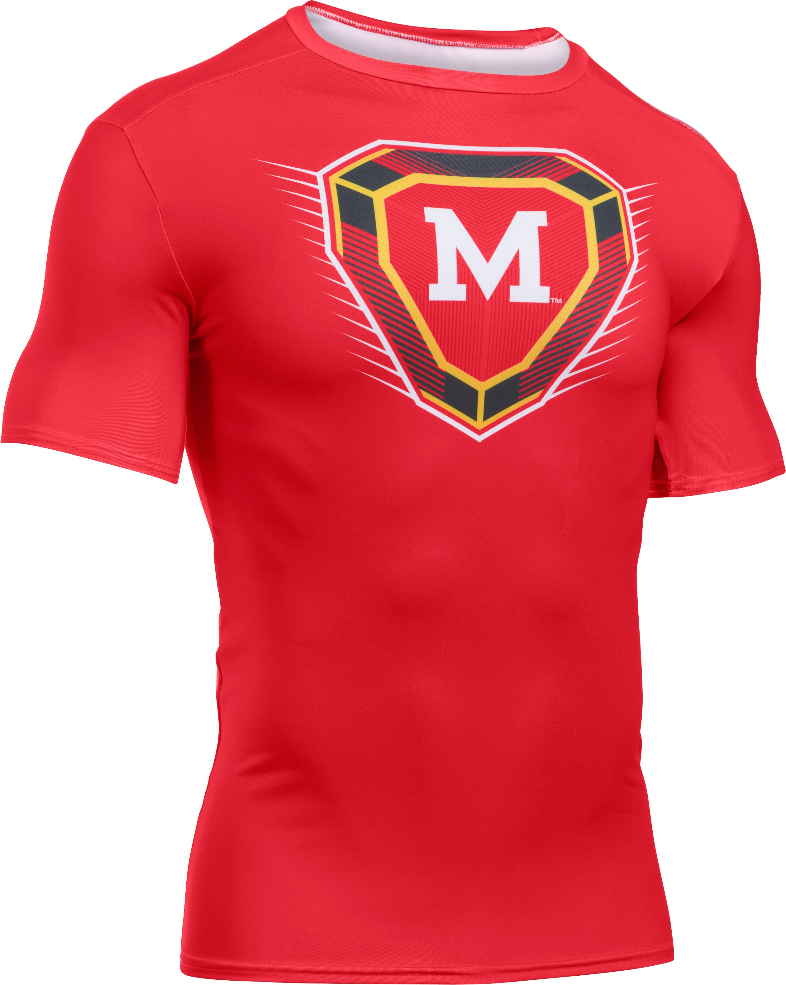 Men's Maryland Throwback Baselayer, Red