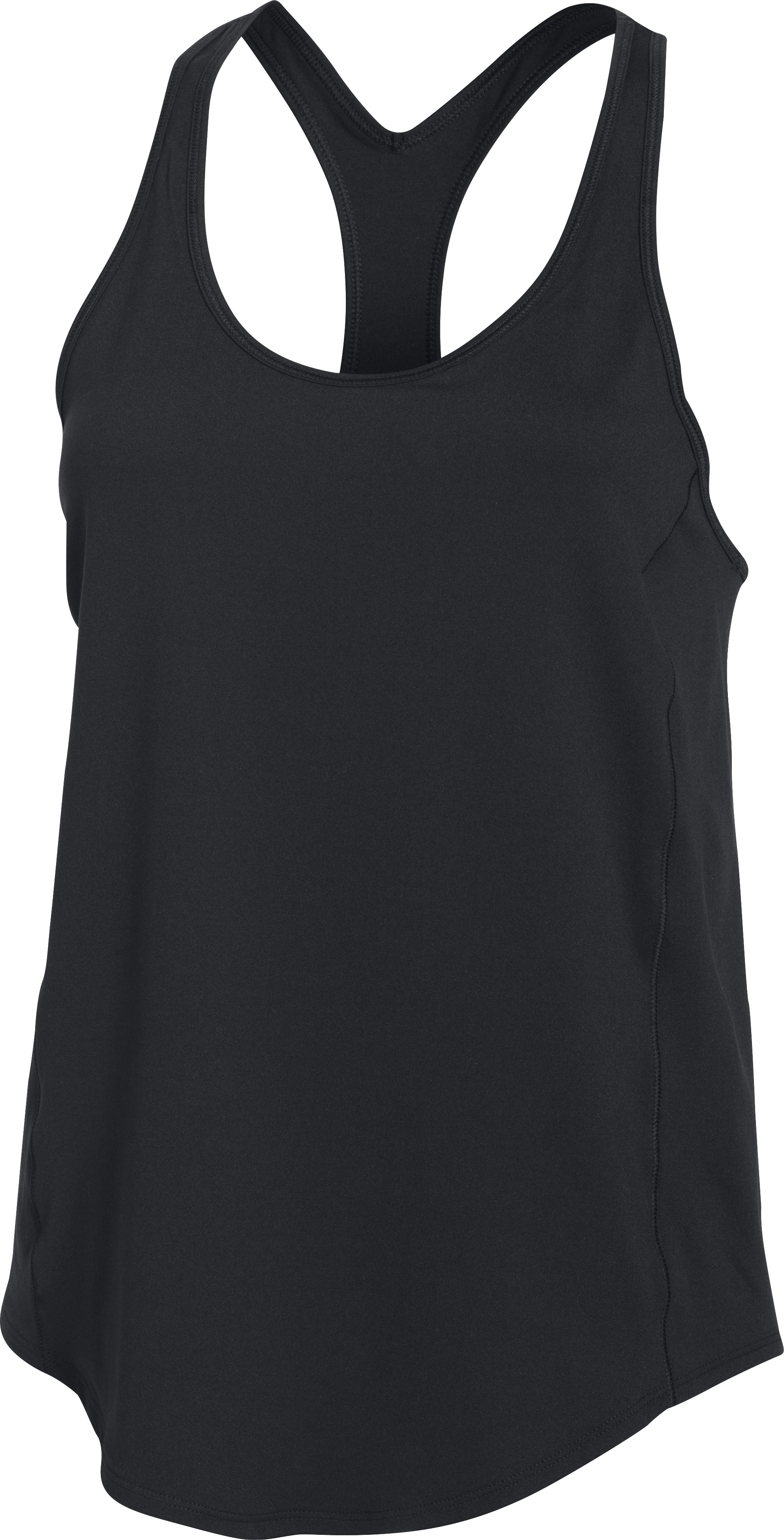 Women's UA Technical Racer Back Tank, Black