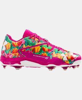 Men's UA Deception Low DiamondTips Baseball Cleats – Mother's Day Edition