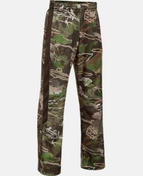 New Arrival  Boys' UA Storm Armour® Fleece Caliber Pants  1 Color $44.99