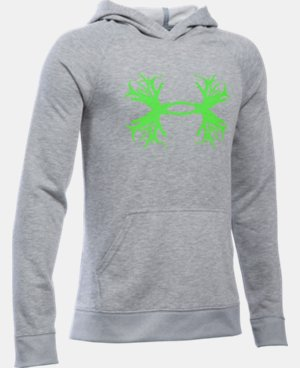 Boys' UA Established Hoodie  4 Colors $39.99