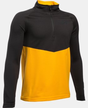 New Arrival  Boys' UA Thermal 1/4 Zip  2 Colors $33.74 to $44.99