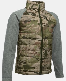 Boys' UA Camo Hybrid Jacket  2 Colors $74.99