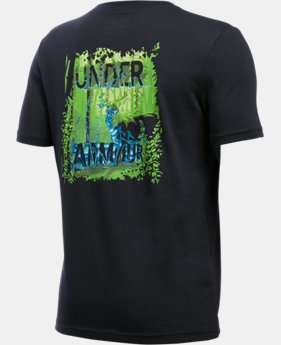 New Arrival  Boys' UA Whitetail Graphic Short Sleeve T-Shirt  1 Color $25.99