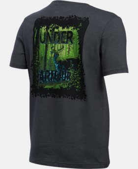Boys' UA Whitetail Graphic Short Sleeve T-Shirt LIMITED TIME: FREE SHIPPING  $22.99