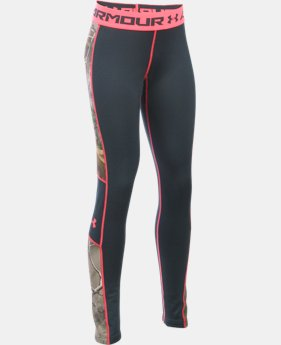 Girls' UA ColdGear® Infrared Scent Control Tevo Leggings