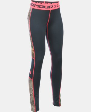 Girls' UA ColdGear® Infrared Scent Control Tevo Leggings LIMITED TIME: 25% OFF  $37.49