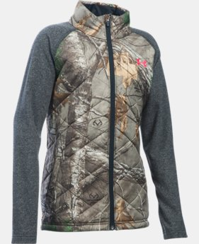 Girls' UA Artemis Hybrid Jacket LIMITED TIME OFFER 1 Color $56.24