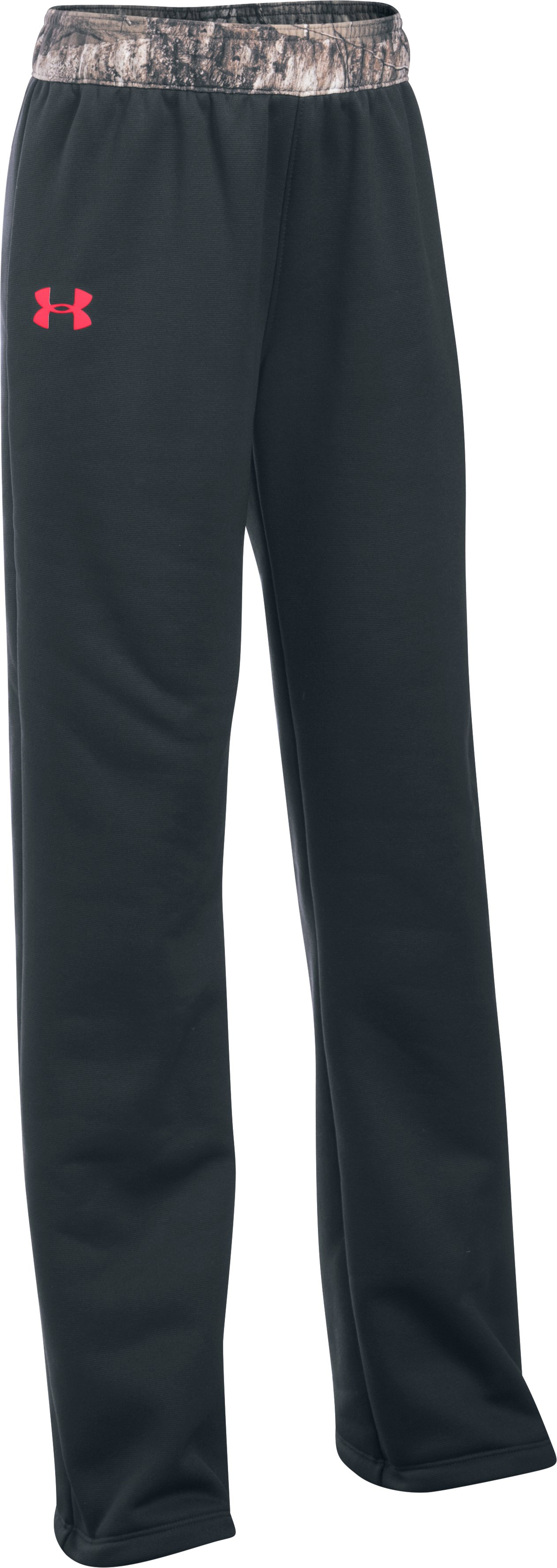 Girls' UA Storm Caliber Pants, ANTHRACITE, zoomed image