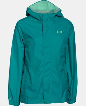 New Arrival Girls' UA Storm Bora Jacket  1 Color $74.99