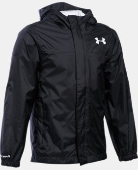 Boys' UA Clean Up Piped Baseball Jacket  1 Color $56.99