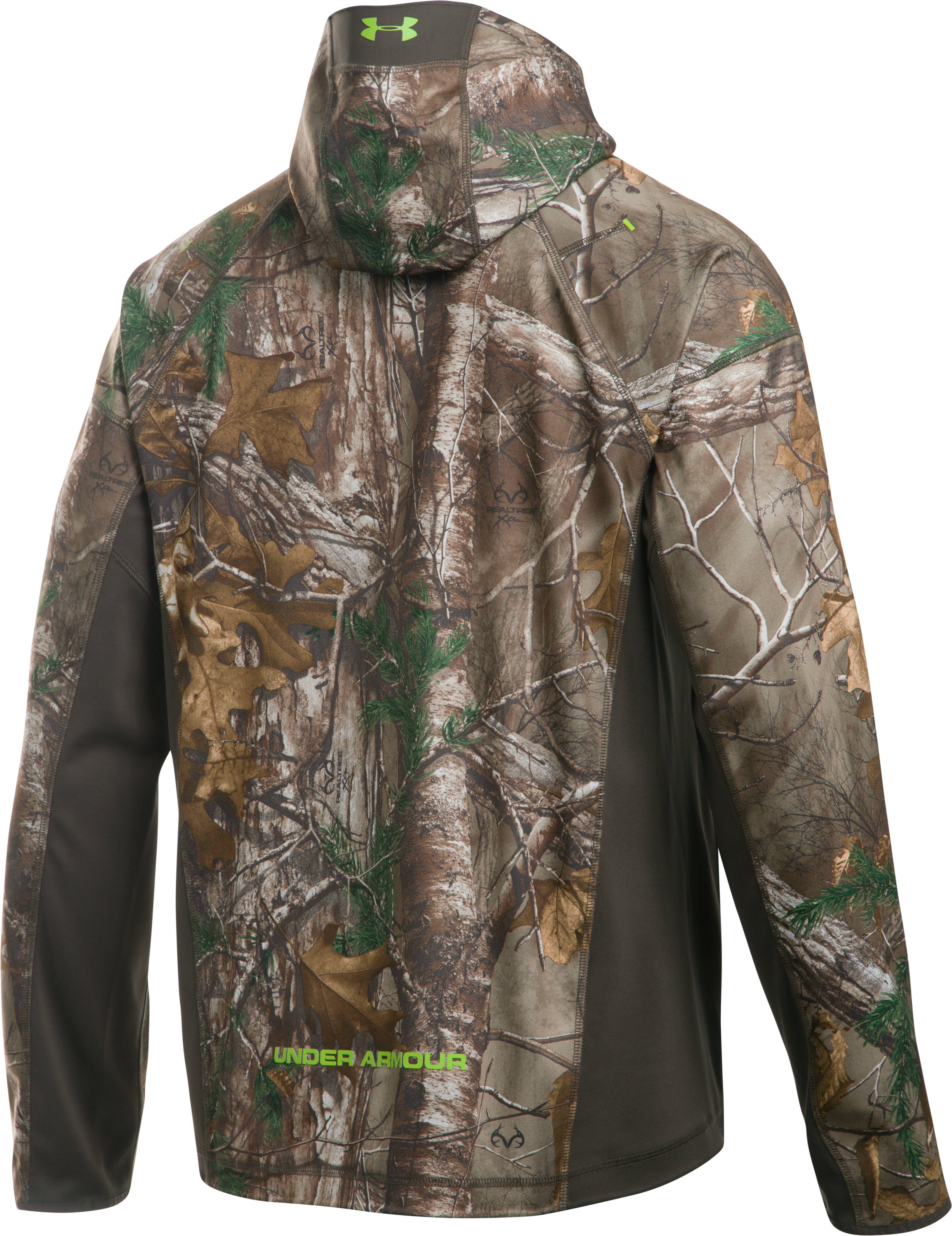 Men's UA Storm Early Season ½ Zip Jacket, REALTREE AP-XTRA, undefined