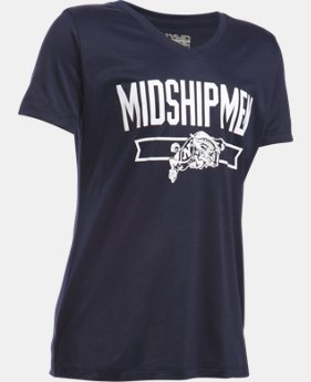 Girls' Navy UA Tech™ Shimmer T-Shirt  1 Color $18.99