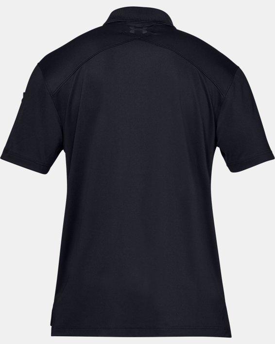 Men's UA Tactical Performance Polo, Black, pdpMainDesktop image number 7
