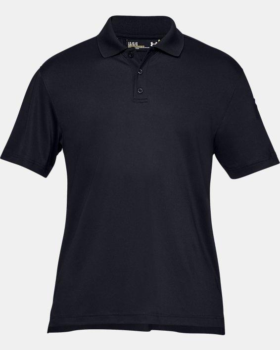 Men's UA Tactical Performance Polo, Black, pdpMainDesktop image number 6