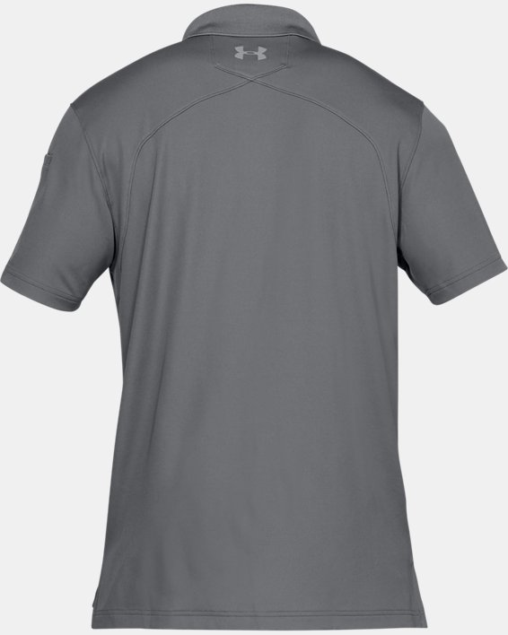 Men's UA Tactical Performance Polo, Gray, pdpMainDesktop image number 7