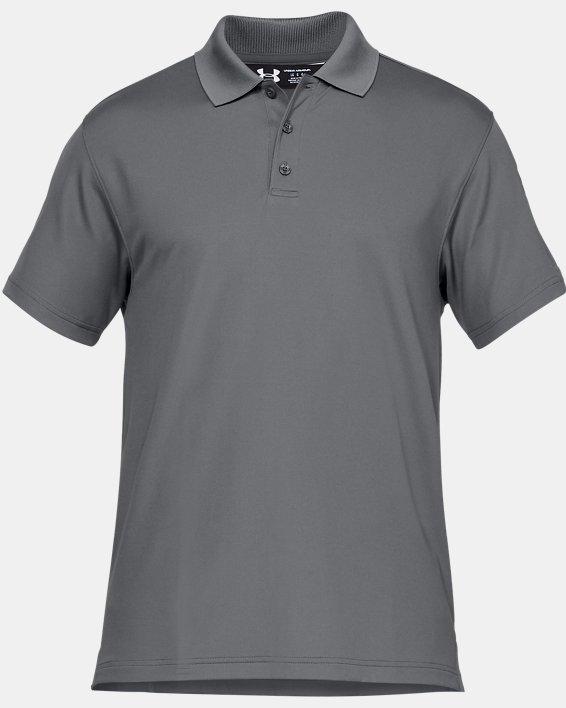 Men's UA Tactical Performance Polo, Gray, pdpMainDesktop image number 6
