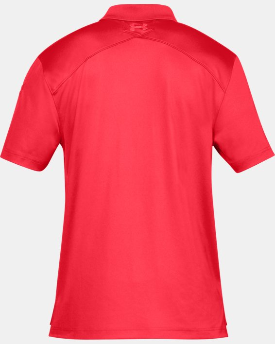 Men's UA Tactical Performance Polo, Red, pdpMainDesktop image number 7