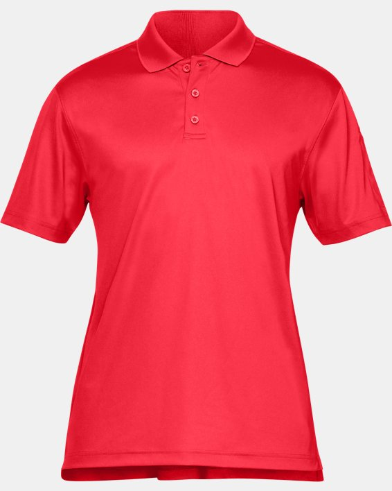 Men's UA Tactical Performance Polo, Red, pdpMainDesktop image number 6