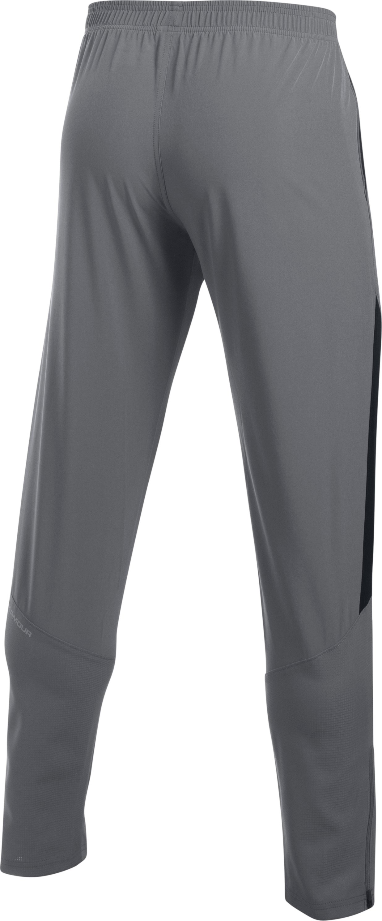 Men's UA No Breaks Stretch-Woven Run Pants, Graphite