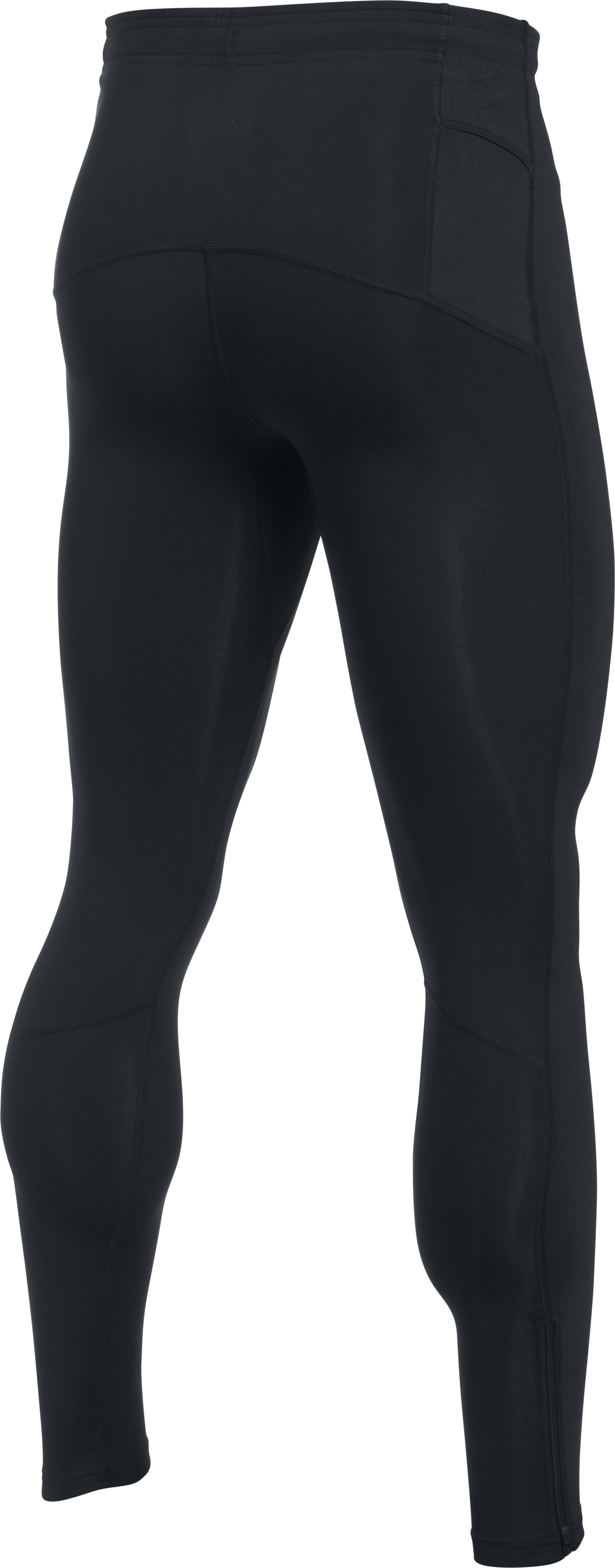 Men's UA No Breaks Run Leggings, Black ,