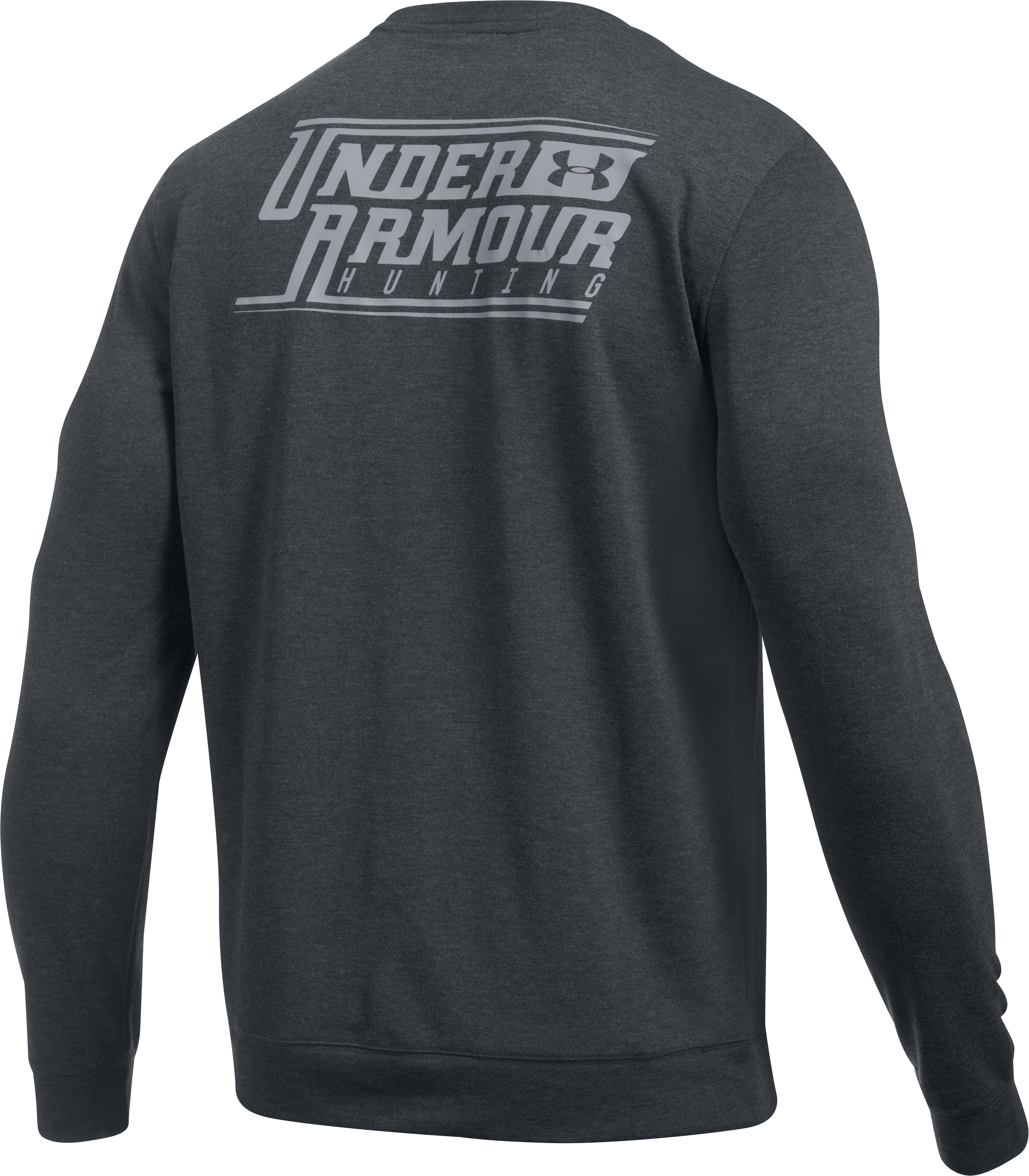 Men's UA Hunt AllSeason Crew, Carbon Heather,