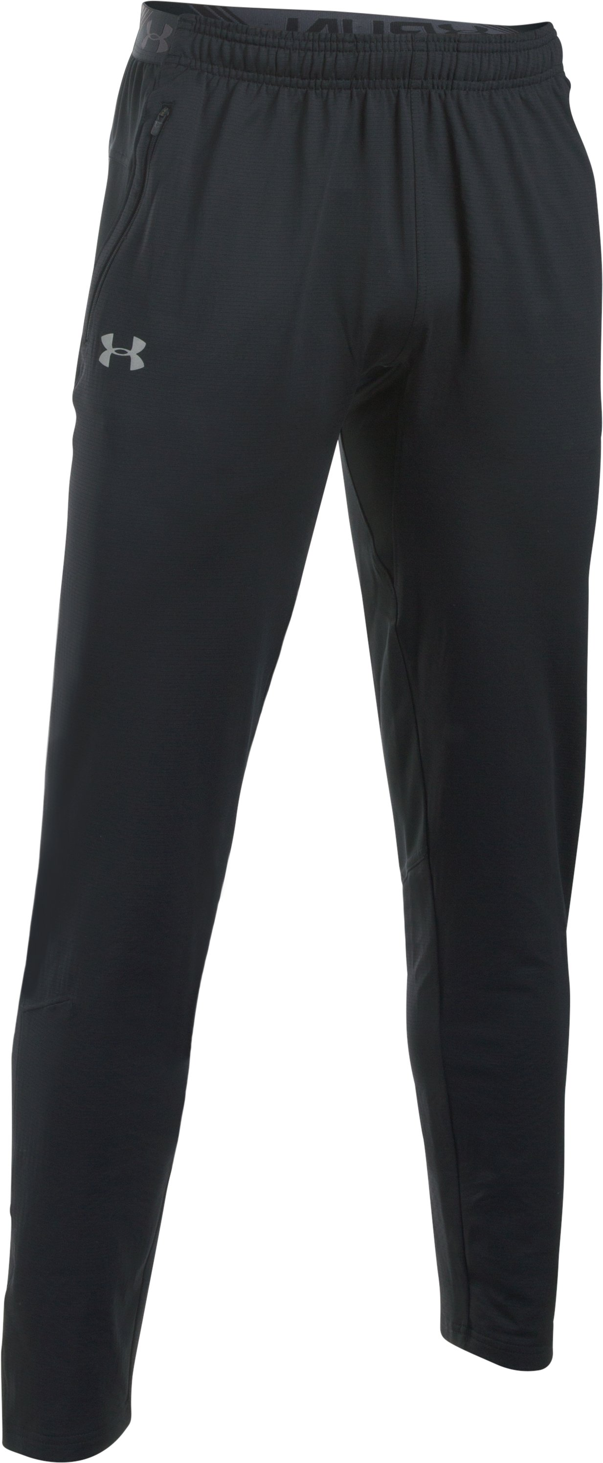 Men's UA No Breaks ColdGear® Infrared Run Pants, Black