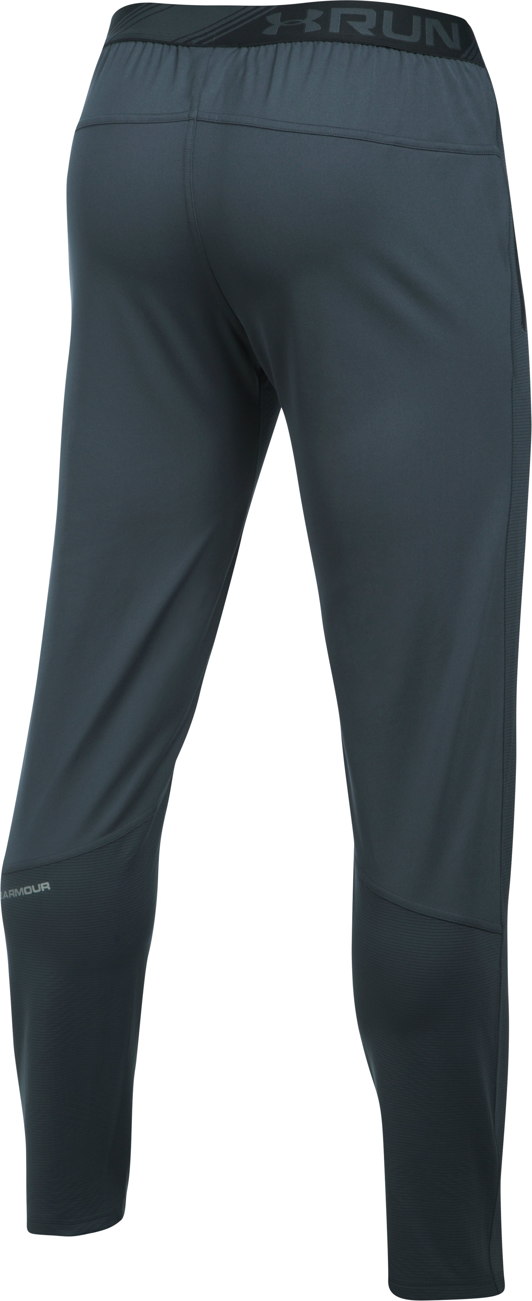 Men's UA No Breaks ColdGear® Infrared Run Pants, STEALTH GRAY,