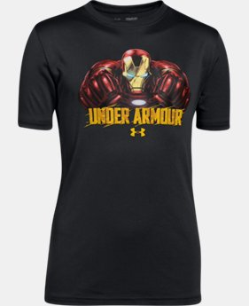 New Arrival Boys' Under Armour® Alter Ego Iron Man T-Shirt LIMITED TIME: FREE SHIPPING 1 Color $29.99