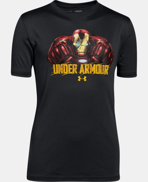 Boys' Under Armour® Alter Ego Iron Man T-Shirt  1 Color $26.99