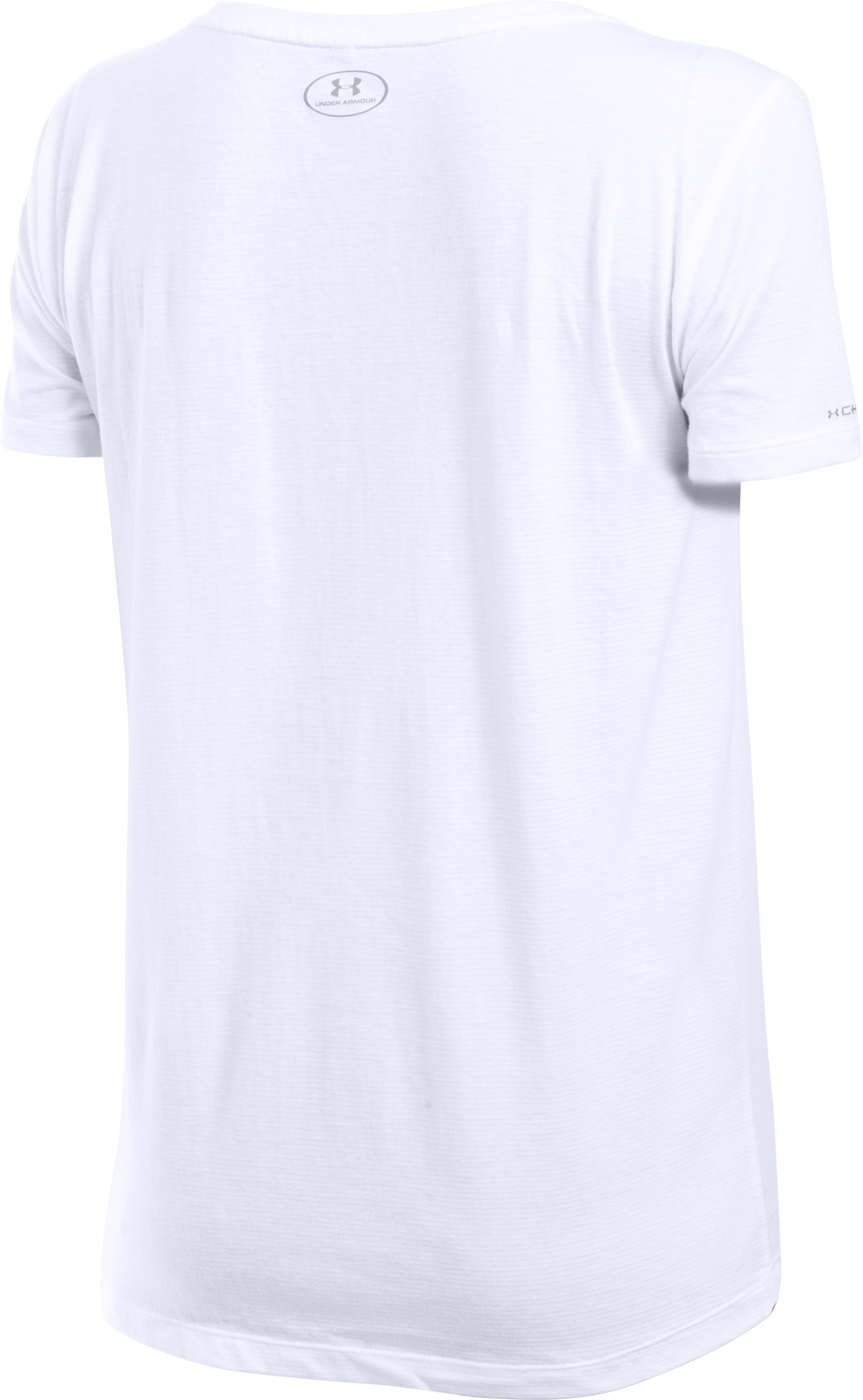 Women's Charged Cotton® Scoop V-Neck, White