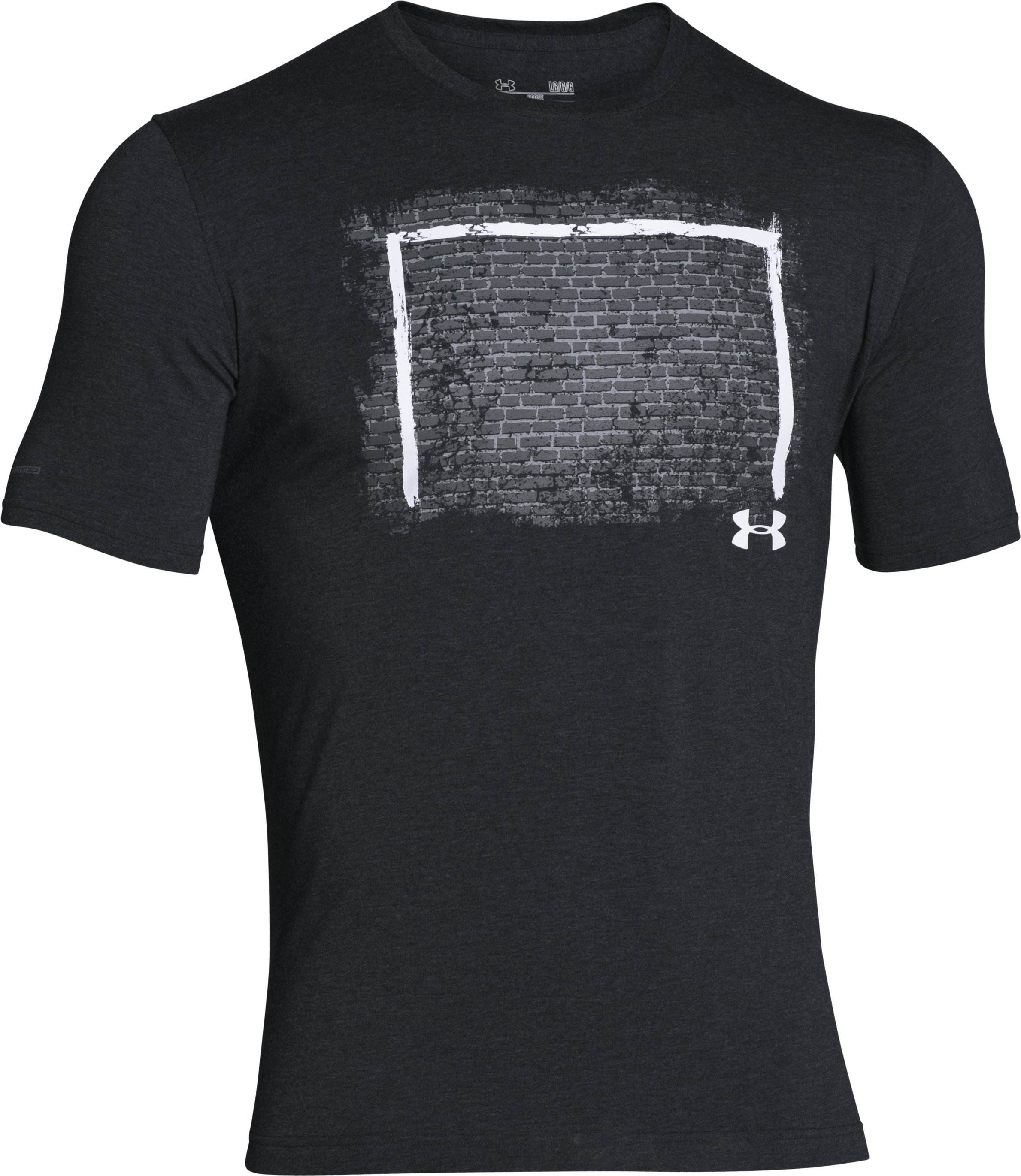 Men's UA Challenger Goal T-Shirt, Black