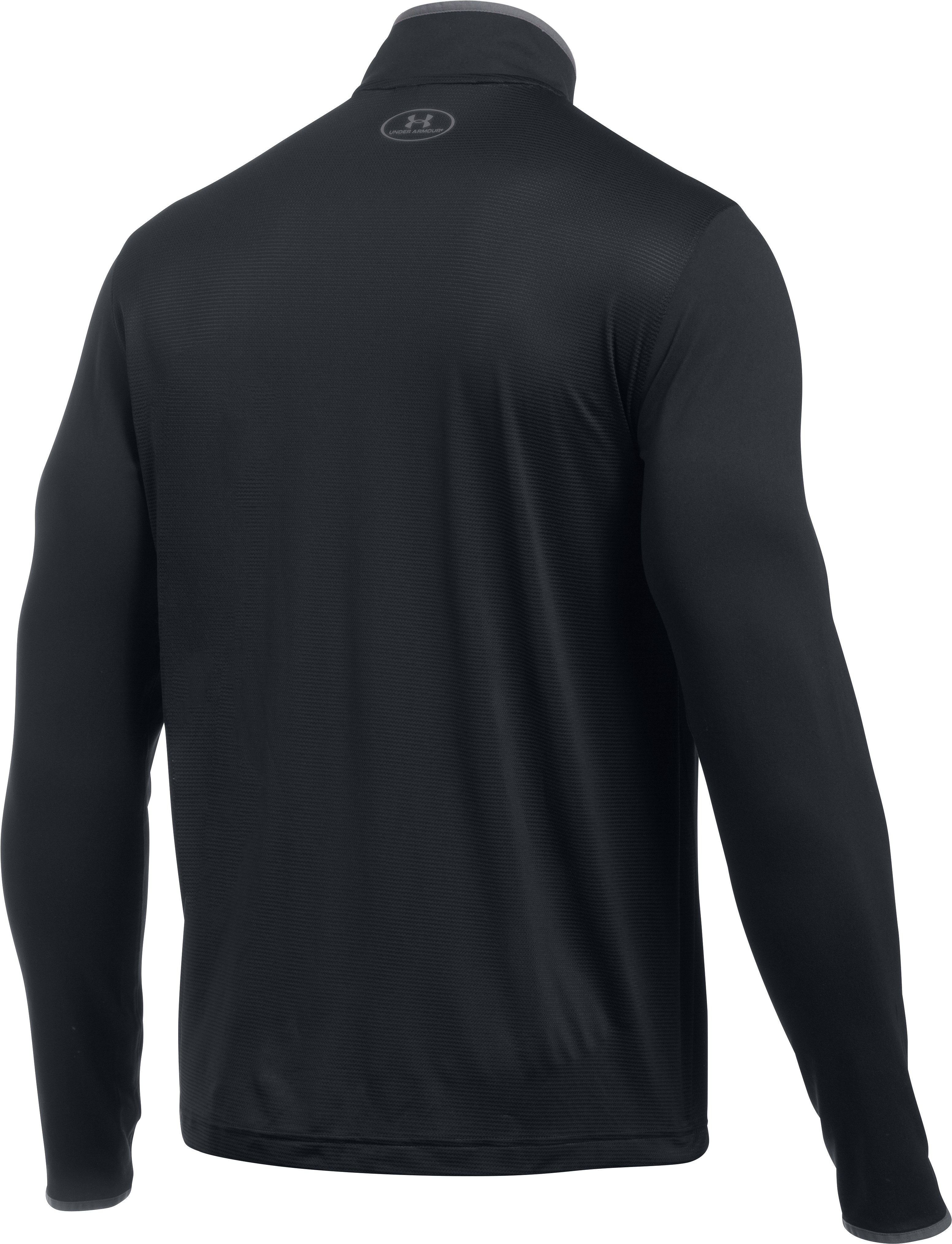 Men's UA Challenger Knit ¼ Zip, Black