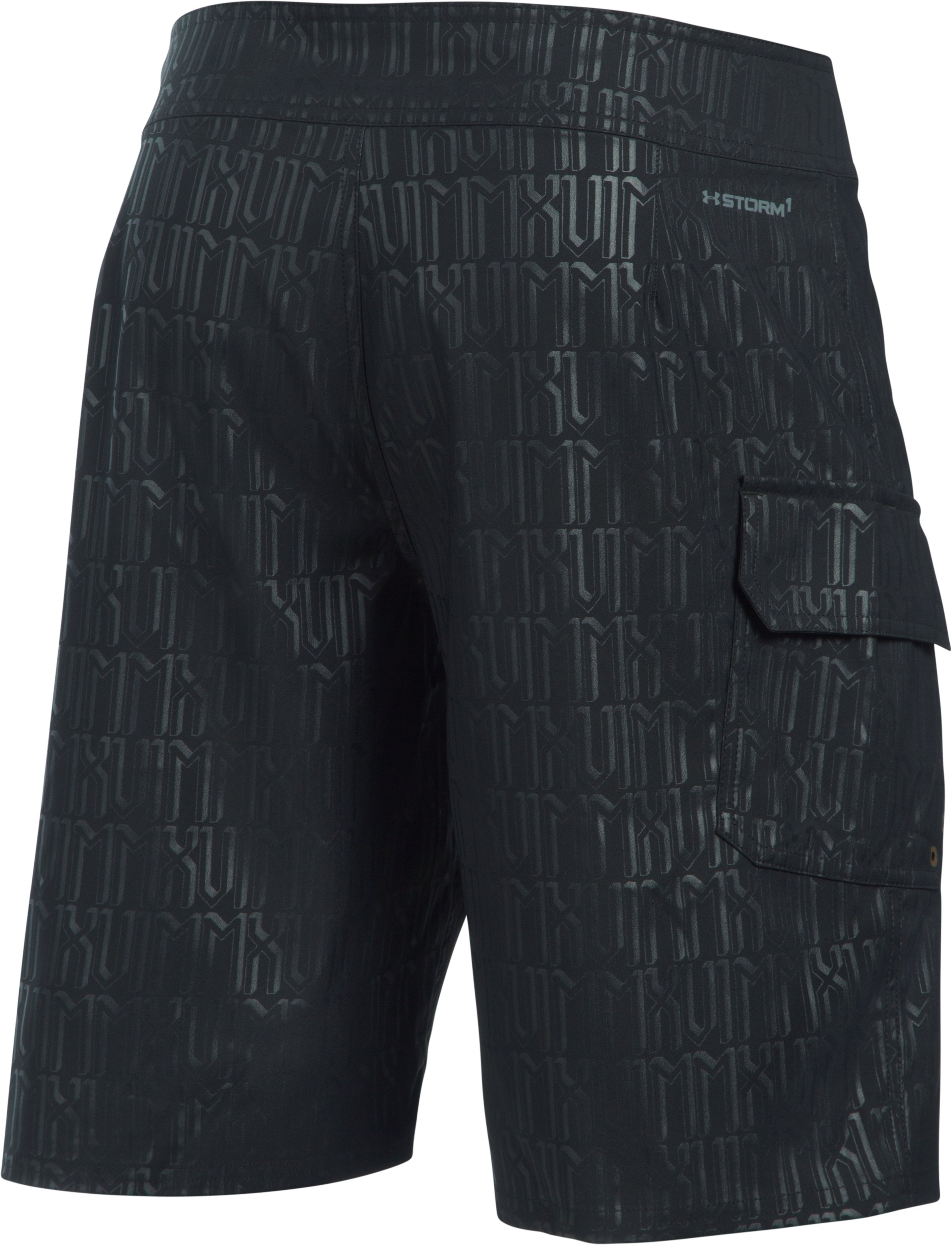 Men's UA Printed , Black , undefined