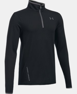 New Arrival Boys' UA Challenger ¼ Zip  1 Color $55