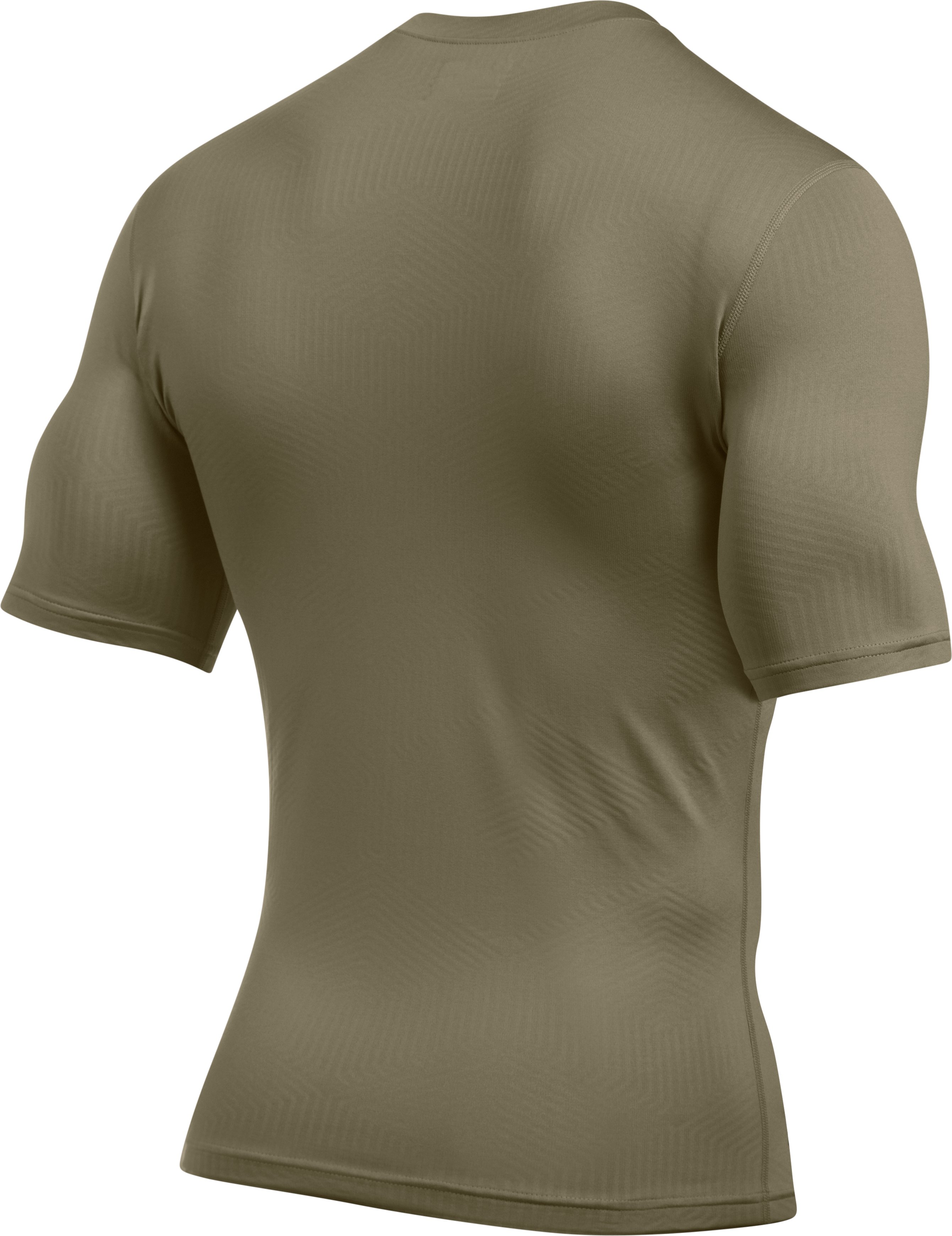 Men's ColdGear® Infrared Tactical Short Sleeve, FEDERAL TAN,