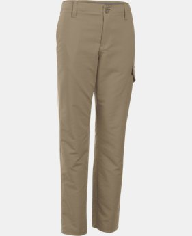 Boys' UA Match Play Cargo Golf Pants